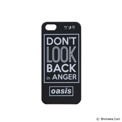 GORIRA Don't Look Back in Anger iPhone 5 Case - Casing Handphone / Case