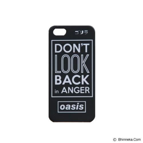 GORIRA Don't Look Back in Anger iPhone 5 Case - Casing Handphone / Case
