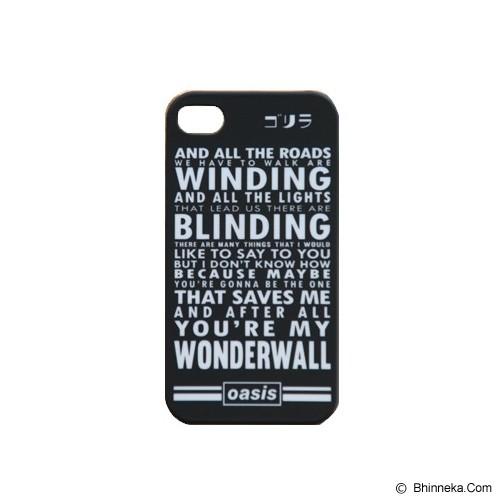 GORIRA Wonderwall iPhone 4 Case - Casing Handphone / Case