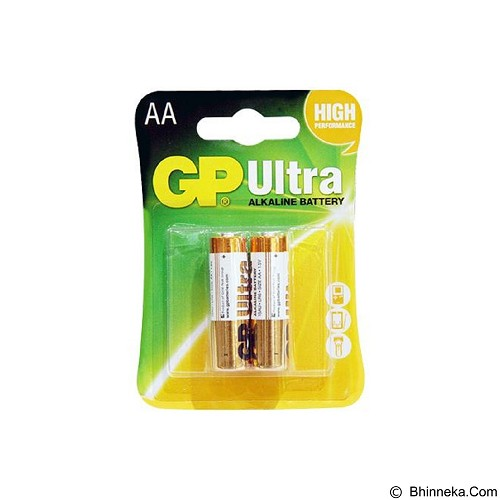 GP BATTERIES Alkaline Ultra AA 2Pcs (Merchant) - Battery and Rechargeable