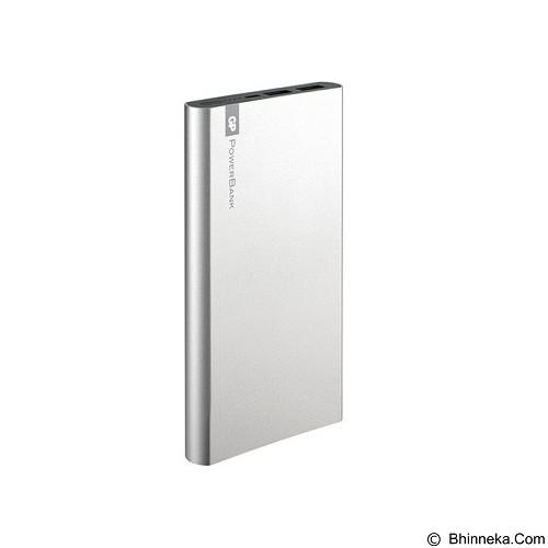 GP BATTERIES Powerbank  FT Series 10000mAh [GPFP10MBE-2B1] - Silver - Portable Charger / Power Bank