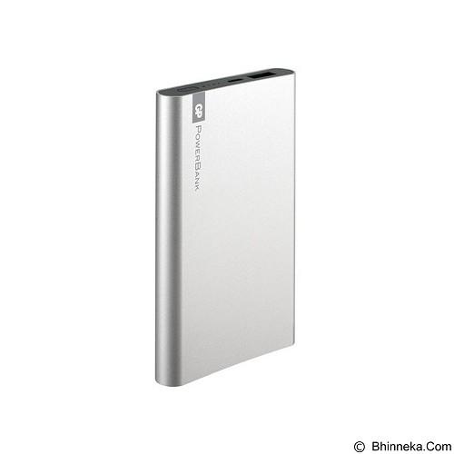 GP BATTERIES Powerbank  FT Series 5000mAh [GPFP05MSE-2B1] - Silver - Portable Charger / Power Bank