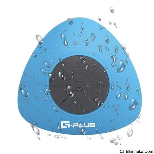 GPLUS Portable Waterproof Bluetooth Shower Speaker - Blue (Merchant) - Speaker Bluetooth & Wireless