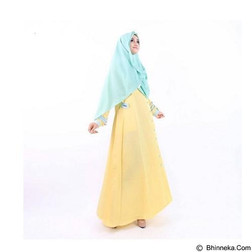 GREENISM Abaya Syakira Colour Size L - Banana (Merchant) - Gamis Wanita