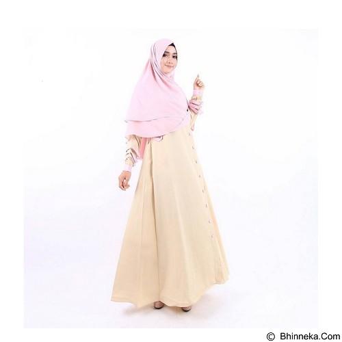 GREENISM Abaya Syakira Colour Size M - Potato (Merchant) - Gamis Wanita