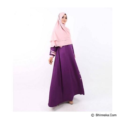 GREENISM Abaya Syakira Colour Size S - Indigo (Merchant) - Gamis Wanita
