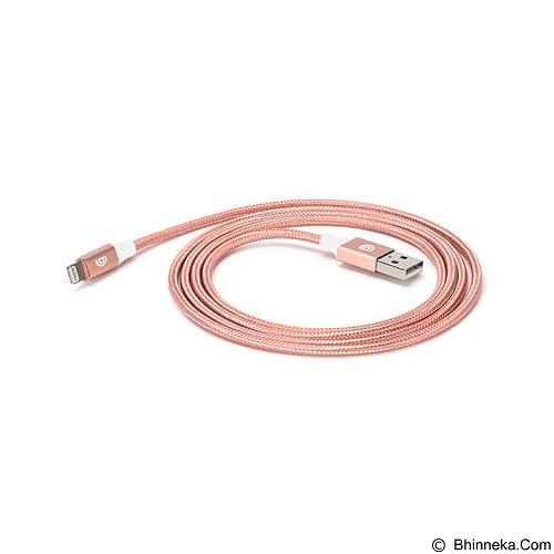 GRIFFIN Premium Lightning Cable 1.5M [GC42200] - Rose Gold - Cable / Connector Usb