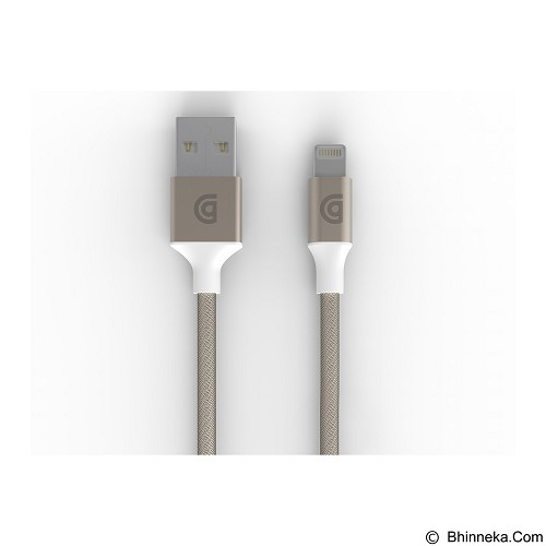 GRIFFIN Premium Lightning Cable 3M [GC40906] - Gold - Cable / Connector Usb