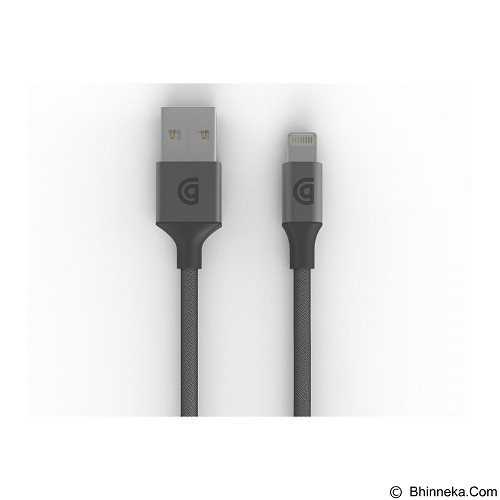 GRIFFIN remium Lightning Cable 1.5M [GC40904] - Gray - Cable / Connector Usb