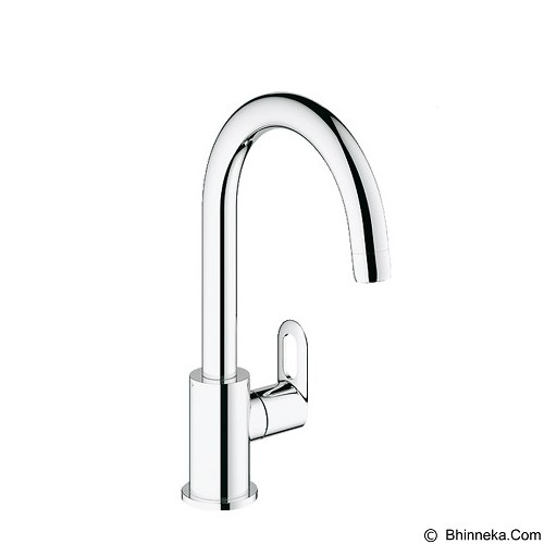 GROHE Kran Air Bauloop Pillar Tap Sink [31222000] - Chrome - KERAN