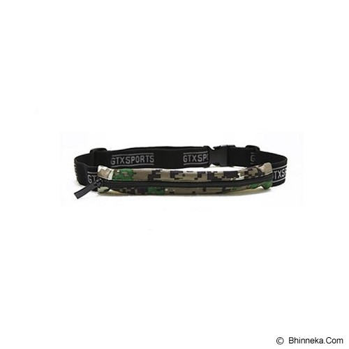 GTX SPORT Running Belt - Army - Tas Pinggang/Travel Waist Bag
