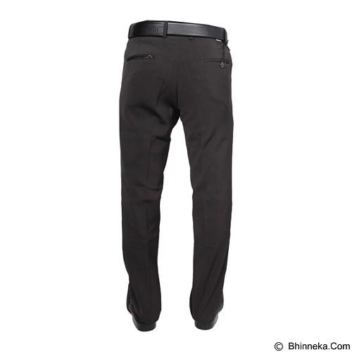 GUDANG FASHION Celana Bahan Size 33 [CLN 454] Silver - Celana Panjang Pria