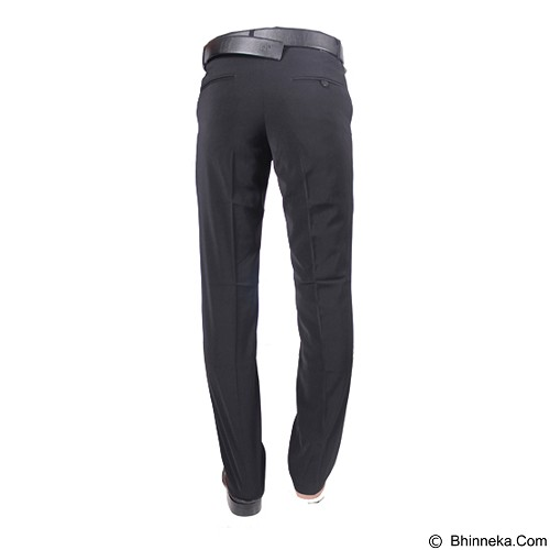 GUDANG FASHION Celana Formal Pria Slimfit Size 35 [CLN 359] - Grey - Celana Panjang Pria