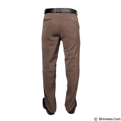 GUDANG FASHION Celana Formal Size 35 [CLN 455] - Brown - Celana Panjang Pria