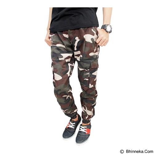 GUDANG FASHION Celana Jogger Motif Loreng Size 27 [CLN 617] - Celana Panjang Pria