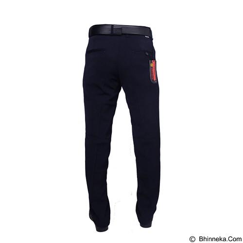 GUDANG FASHION Celana Kantor Pria Size 33 [CLN 457] - Blue Dongker - Celana Panjang Pria