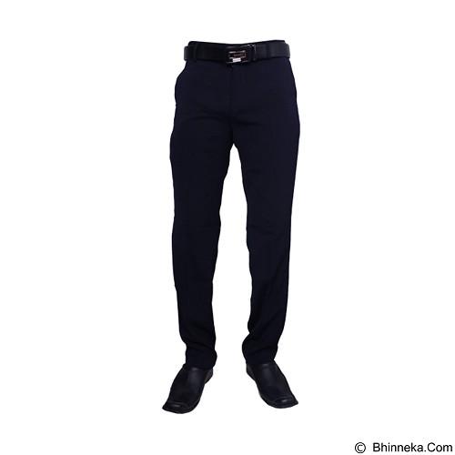 GUDANG FASHION Celana Kantor Pria Size 34 [CLN 457] - Blue Dongker - Celana Panjang Pria