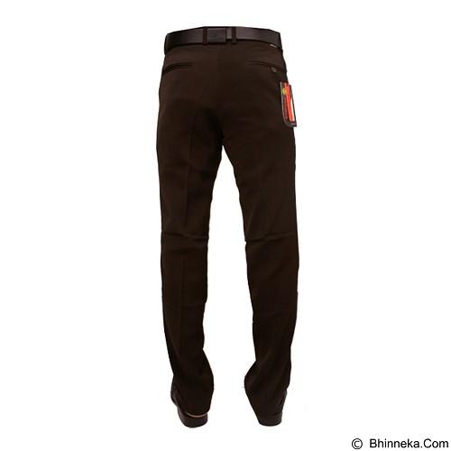 GUDANG FASHION Celana Pria Formal Size 28 [CLN 456] - Brown - Celana Panjang Pria