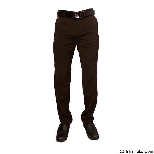 GUDANG FASHION Celana Pria Formal Size 34 [CLN 456] - Brown - Celana Panjang Pria