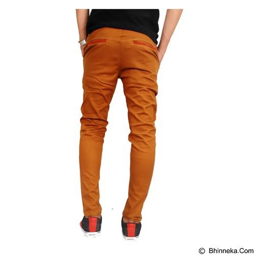 GUDANG FASHION Chinos For Men Size 27 [CLN 855] - Orange - Celana Panjang Pria