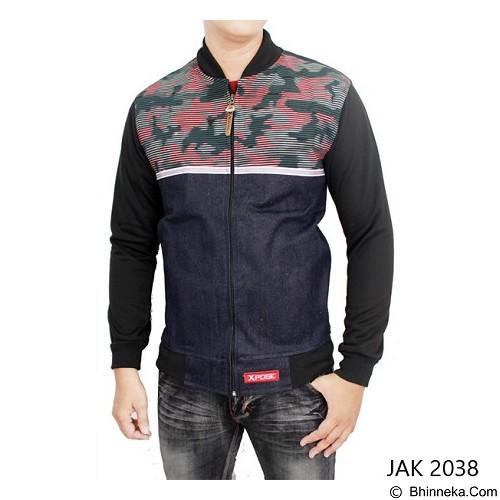 GUDANG FASHION Jeans Jacket Outfits [JAK 2038-A] - Multi Colour - Jaket Casual Pria