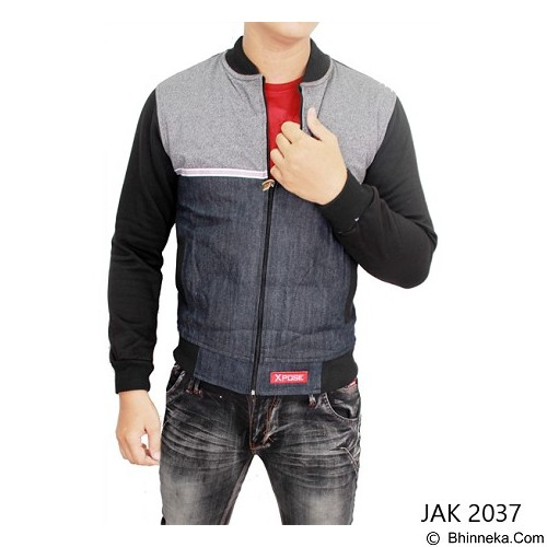 GUDANG FASHION Jeans Jacket Style [JAK 2037-A] - Multi Colour - Jaket Casual Pria