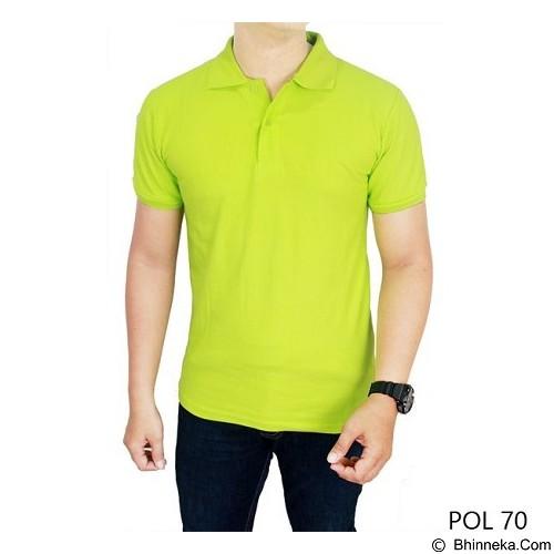 GUDANG FASHION Kaos Polos Kerah Size XL [POL 70-XL] - Green Stabillo - Polo Pria