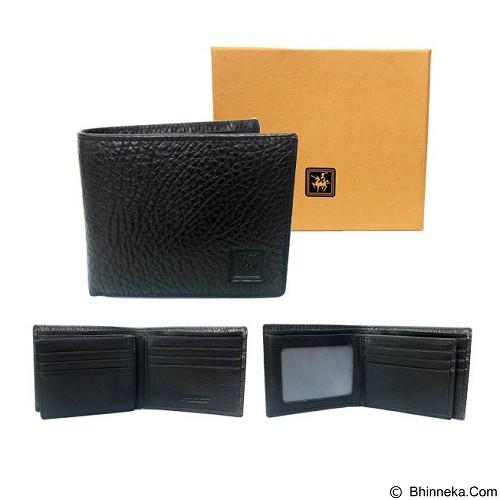 GUDANG FASHION Leather Wallets [WAL 368-A] - Black - Dompet Pria