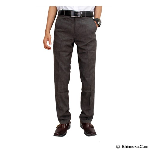 GUDANG FASHION Pants For Men Size 33 [CLN 811] - Silver - Celana Panjang Pria