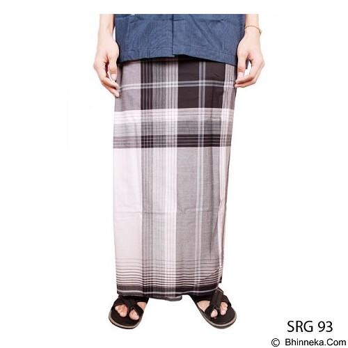 GUDANG FASHION Sarung [SRG 93-A] - Black White - Sarung