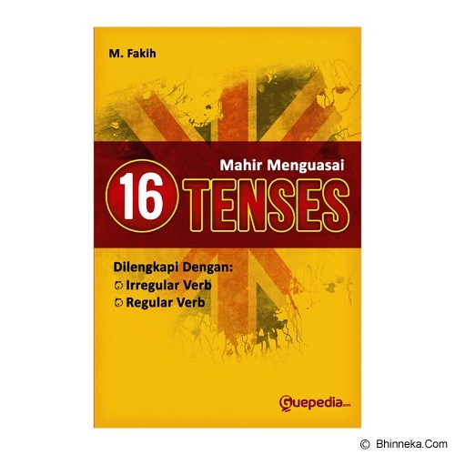 GUEPEDIA Mahir Menguasai 16 Tenses - Craft and Hobby Book