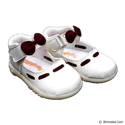 HAPPY BABY Sepatu Bayi Bunyi Size 23 [PCB 822] - Maroon - Sepatu Anak
