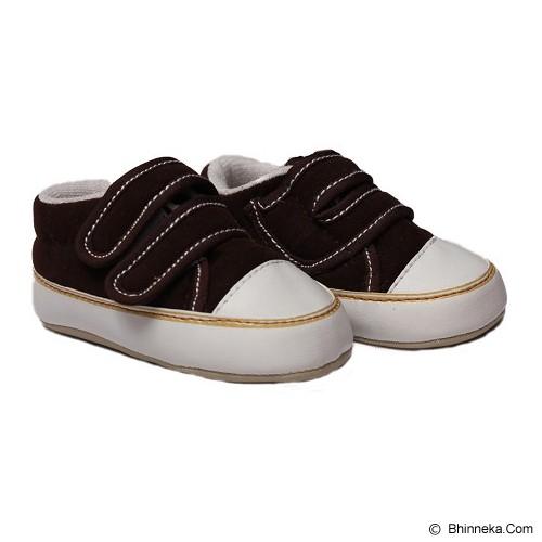 HAPPY BABY Sepatu Bayi Prewalker Size 3 [PWN-512] - Brown Coffee - Sepatu Anak