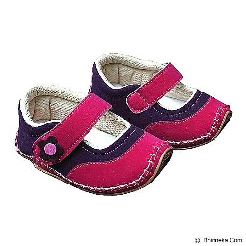 HAPPY BABY Sepatu Bayi Sol Rajut Size 20 [SR-1108] - Fanta Pink - Sepatu Anak