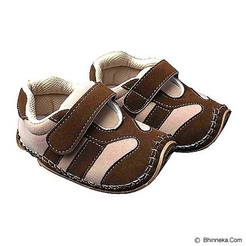 HAPPY BABY Sepatu Bayi Sol Rajut Size 22 [SR-1102] - Cream Brown - Sepatu Anak