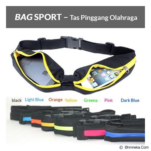 HAPPY ENDING Jogging Bag - Black - Tas Pinggang/Travel Waist Bag