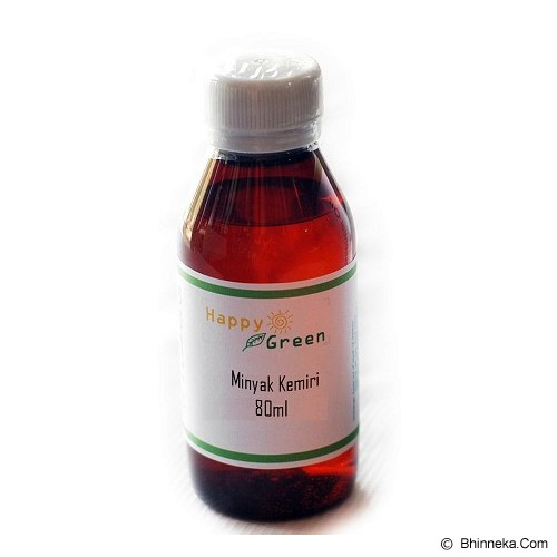 HAPPY GREEN Minyak Kemiri 80ml - Body & Essential Oils