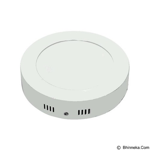 HAPPYSHOP889 LED Lampu Panel Light Bulat Tebal 18 Watt (Merchant) - Lampu Dinding
