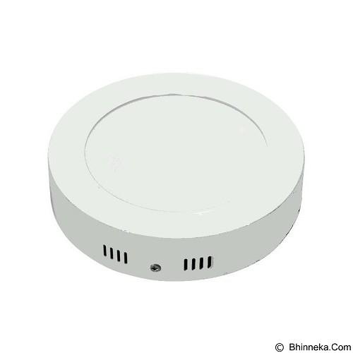 HAPPYSHOP889 LED Lampu Panel Light Bulat Tipis 12 Watt (Merchant) - Lampu Dinding