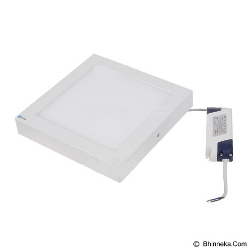 HAPPYSHOP889 LED Lampu Panel Light Kotak Tebal 12 Watt - White (Merchant) - Lampu Dinding