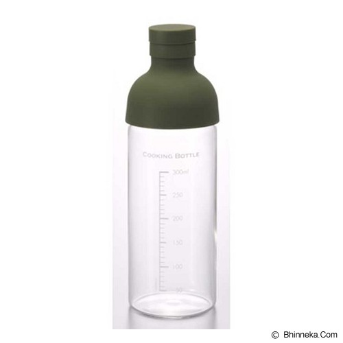 HARIO Cooking Bottle 300ml Olive Green [CKB-300-OG] - Tempat Kecap / Saus