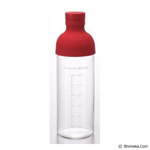 HARIO Cooking Bottle 300ml Red [CKB-300-R] - Kendi / Pitcher / Jug