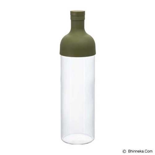 HARIO Filter In Bottle Olive Green [FIB-75-OG] - Botol Minum