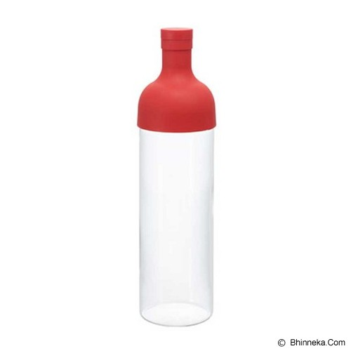 HARIO Filter In Bottle Red [FIB-75-R] - Botol Minum