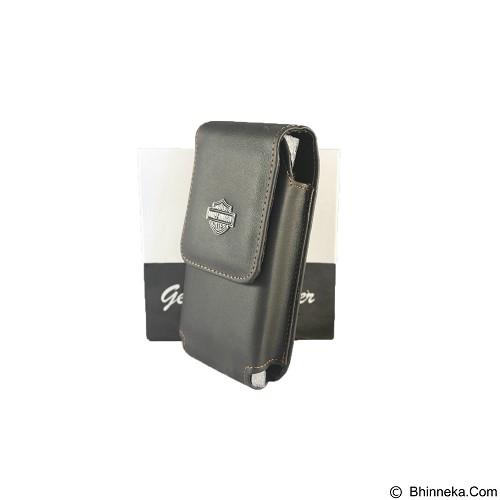 HARLEY DAVIDSON Pouch [FTP SH-30] - Black - Sarung Handphone / Pouch