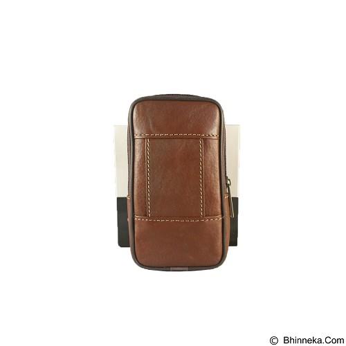 HARLEY DAVIDSON Pouch [FTP SH-40] - Brown - Sarung Handphone / Pouch