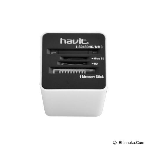 HAVIT All In 1 Card Reader [HV-C14] - Black - Memory Card Reader External