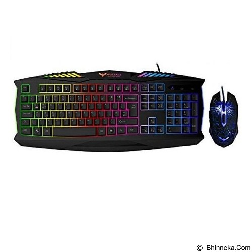 HAVIT Chroma Backlight Eagle Combo Gaming Keyboard Mouse [KB562] (Merchant) - Keyboard Mouse Combo