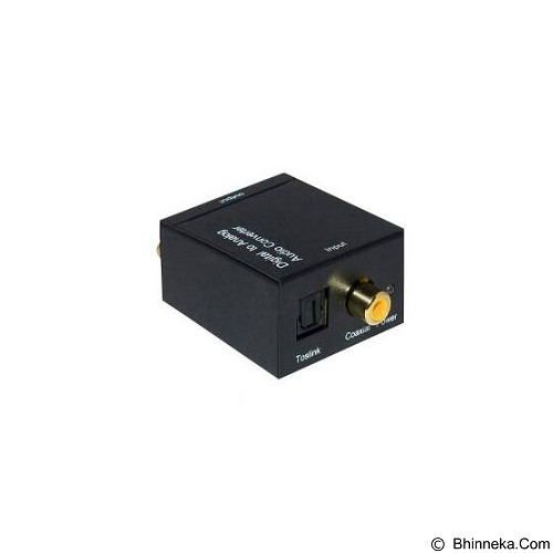 HCS Box Audio Digital Optic Coax to Analog RCA (Merchant) - Audio/Video Receivers