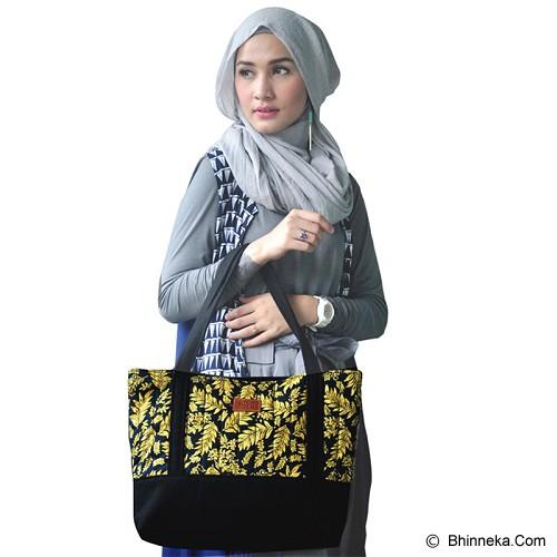 HEEJOU BAG Carmella - Black/Yellow - Tote Bag Wanita